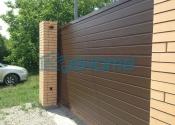 стандартные алюминиевые ворота