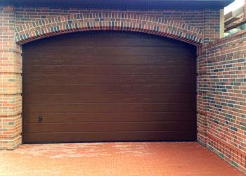 Наши работы — Секционные гаражные ворота